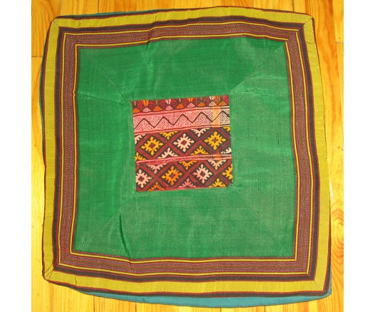 TURKMEN SILK FABRIC EMBROIDERED PILLOW CASE 2089