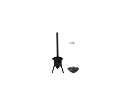 Комплект Печь + Казан 22л  Ситон, Set Oven, Kazan 480mm