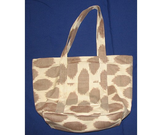 HANDMADE SILK FABRIC IKAT ADRAS SHOULDER BAG 8107